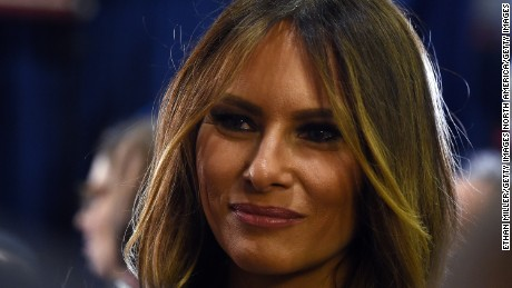 Melania Trump: 'I don't try to change him'