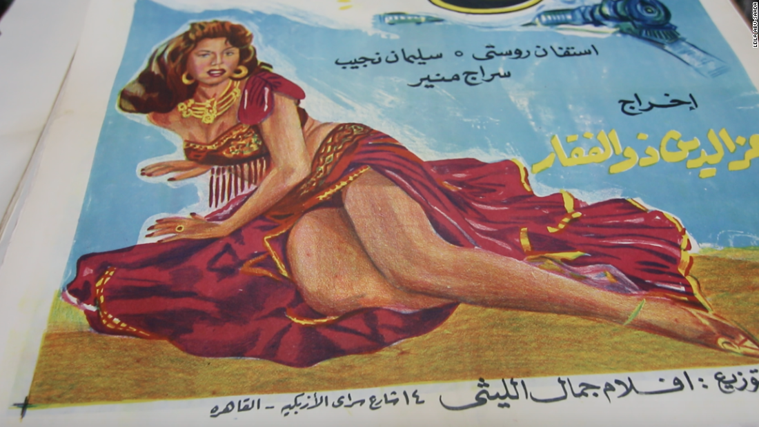 The posters were originally hand-painted by Armenian and Greek immigrants in Egypt in a few short days.