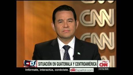 exp Entrevista Presidente de Guatemala Jimmy Morales _00002001