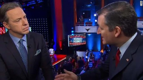 ted cruz post gop debate entire tapper sot_00004129