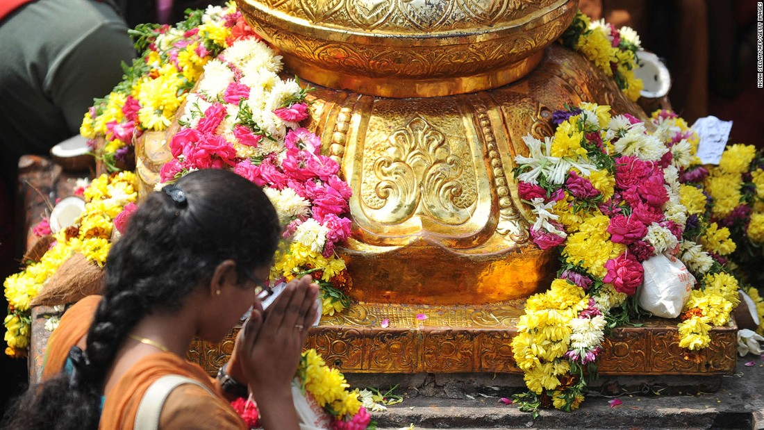 Most devotees visiting the Chilkur Balaji temple near Hyderabad, India are hoping to be granted visas for overseas travel.
