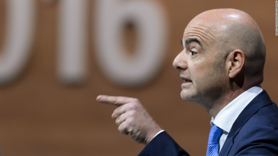 "Swiss police raided UEFA headquarters after the Panama Papers allegedly revealed a controversial television rights contract with Gianni Infantino's signature on it.  <br /><a href=""http://cnn.com/2016/04/06/football/panama-papers-uefa-gianni-infantino-p/index.html""><br />FIFA boss Gianni Infantino denies wrongdoing in Panama Papers claims</a>"