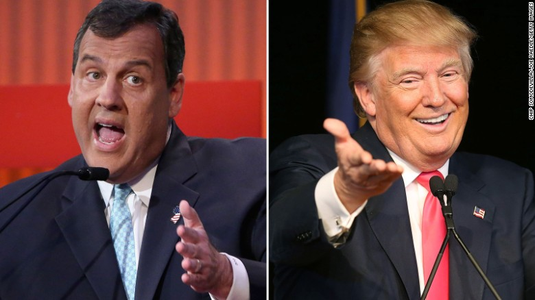 Chris Christie's unfriendly Trump comments