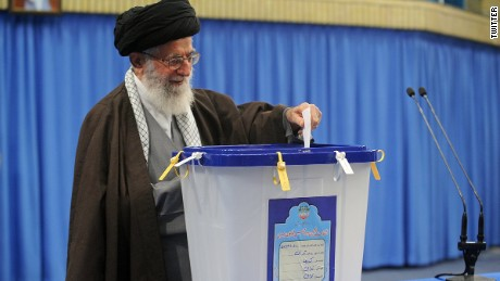 Iranians vote in high-stakes election