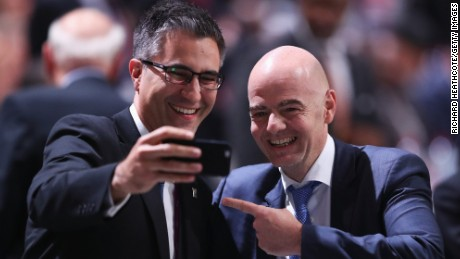 Gianni Infantino crowned new FIFA president