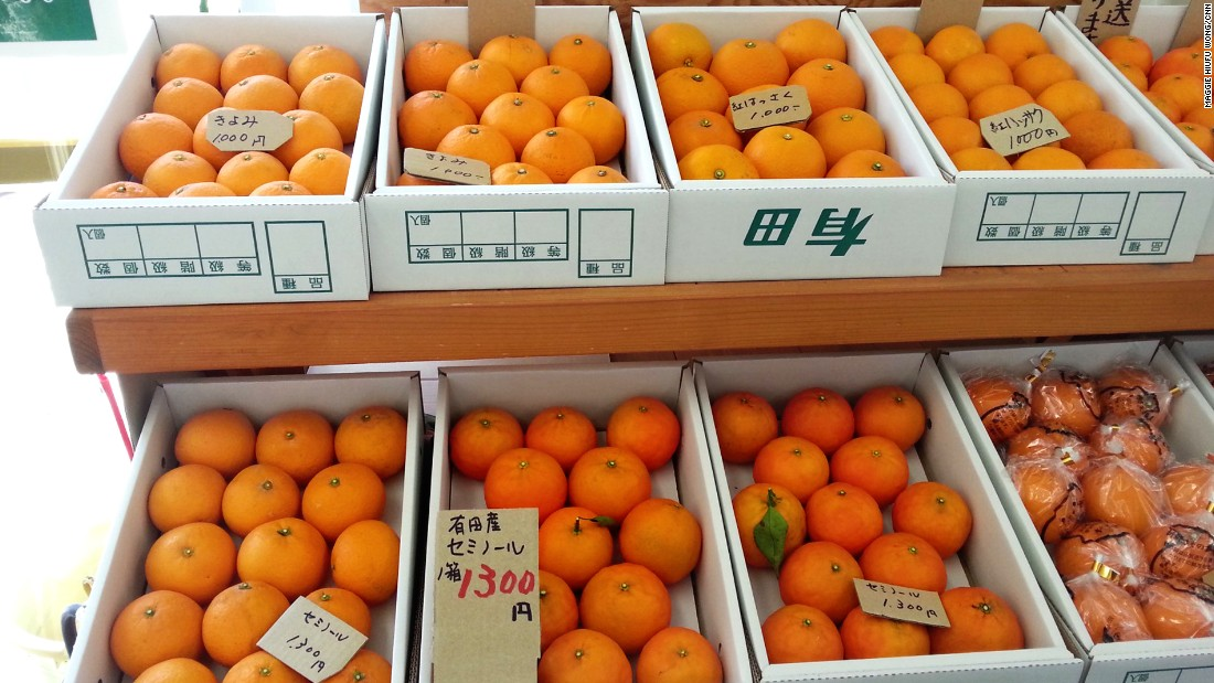 Tried and true: The smell of Arida mandarins will make orange fans drool.
