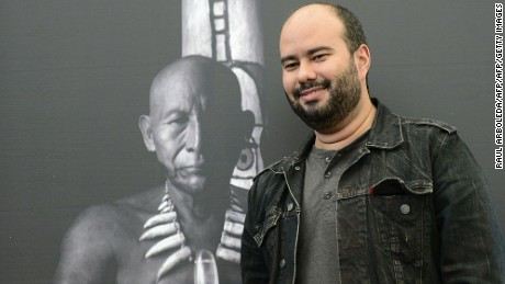 Colombian director Ciro Guerra poses for pictures during a press conference in Bogota, on January 14, 2016. Guerra's 'Embrace of the Serpent' was nominated among the foreign films to compete in 2016 Oscars' Best Foreign-Language Film category ahead of the Academy Awards on February 28.   AFP PHOTO / RAUL ARBOLEDA / AFP / RAUL ARBOLEDA        (Photo credit should read RAUL ARBOLEDA/AFP/Getty Images)
