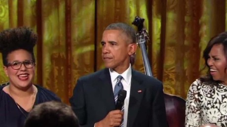 barack obama sings ray charles demon lemon sot ctn_00003902