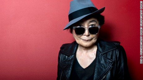 "Yoko Ono is set to be added as one of the songwriters of ""Imagine."""