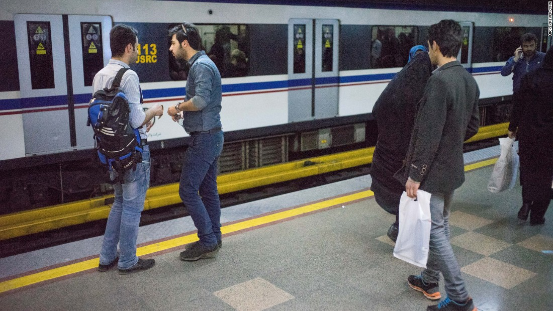 The system transports nearly 2 million people per day, according to the Tehran Urban & Suburban Railway Operation Co.