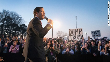 Is Rubio's attack against Trump too little too late?