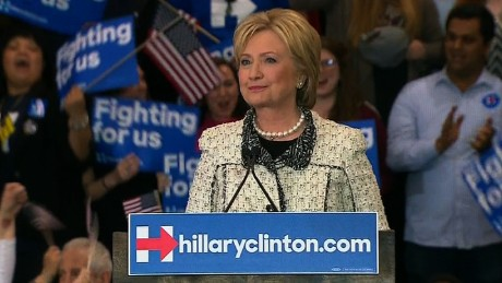 Hillary Clinton quotes Corinthians in victory speech