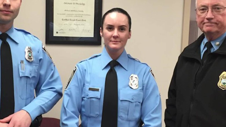 Officer killed day after she was sworn in