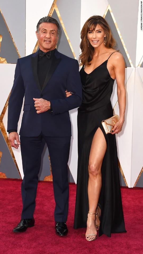 Sylvester Stallone and Jennifer Flavin