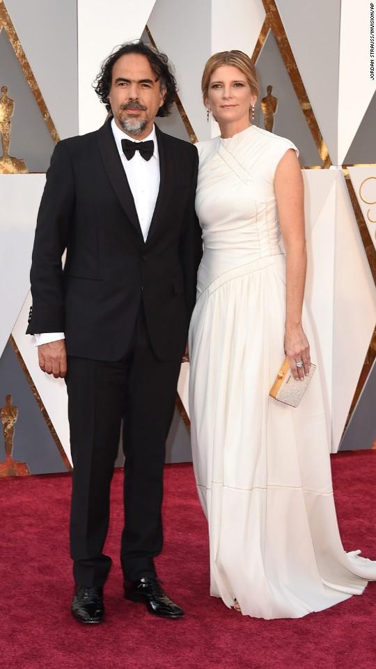 Alejandro Gonzalez Inarritu and Maria Eladia Hagerman
