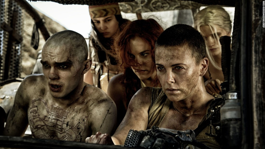 "<strong>Best costume design:</strong> ""Mad Max: Fury Road"" (Jenny Beavan)"