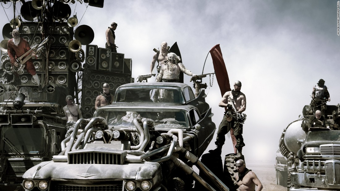 "<strong>Best sound editing:</strong> ""Mad Max: Fury Road"" (Mark Mangini and David White)"