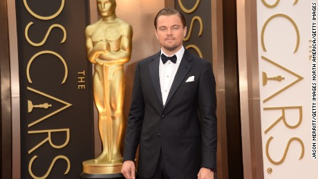 HOLLYWOOD, CA - MARCH 02:  Actor Leonardo DiCaprio attends the Oscars held at Hollywood & Highland Center on March 2, 2014 in Hollywood, California.  (Photo by Jason Merritt/Getty Images)