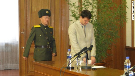 Otto Warmbier, American student released by North Korea, is in a coma