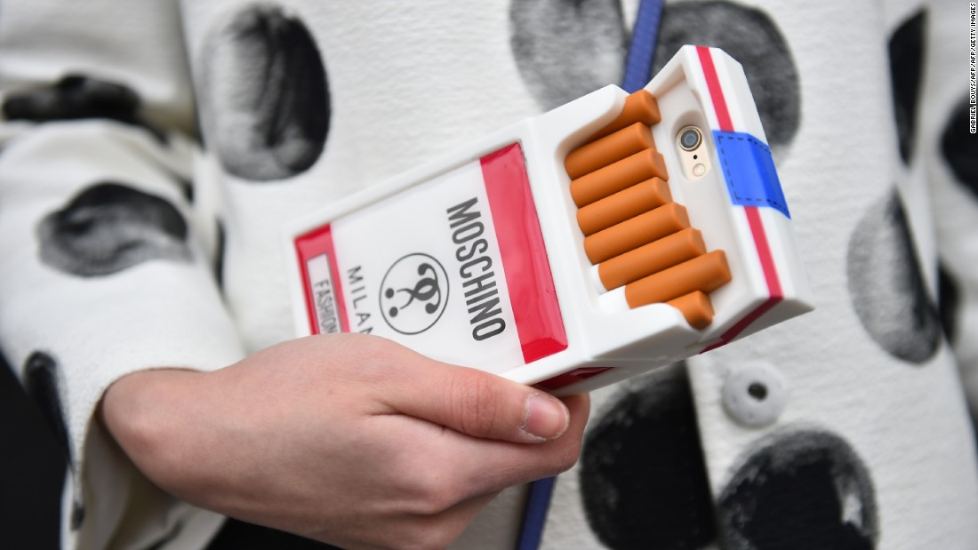 The concept isn't new. Moschino designer Jeremy Scott has included shoppable capsule collections in his runway shows since 2014. His Autumn-Winter 2016 #ItsLit capsule collection, which was themed around cigarettes, is now on sale.