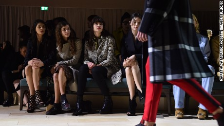A front-row view of Burberry's Autumn-Winter 2016 collection