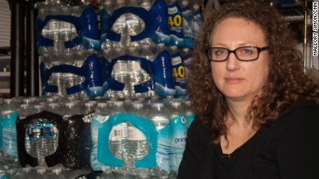 "Flint resident Laura MacIntyre calls the city's water crisis a ""manmade disaster."""