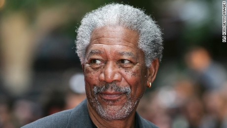 Actor Morgan Freeman