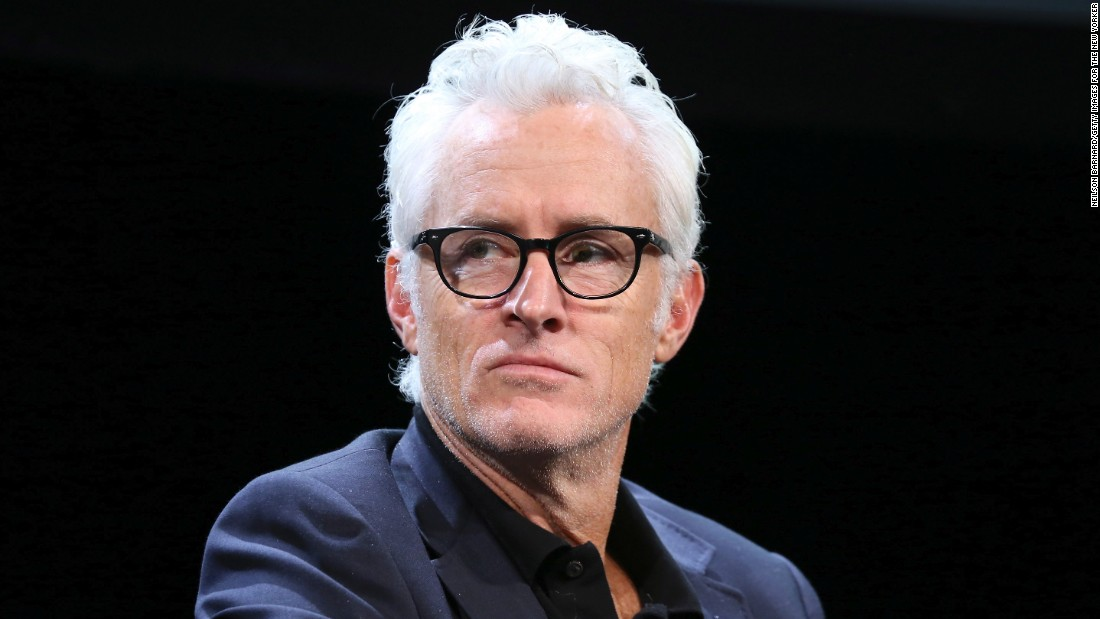 "Actor John Slattery, best known as silver fox Roger Sterling on AMC's ""Mad Men,"" went prematurely gray in his 20s."