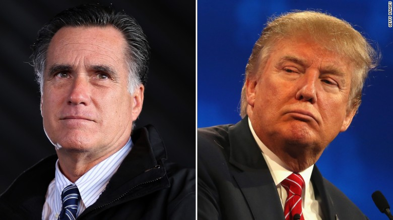 Mitt Romney: Donald Trump is a 'fraud'
