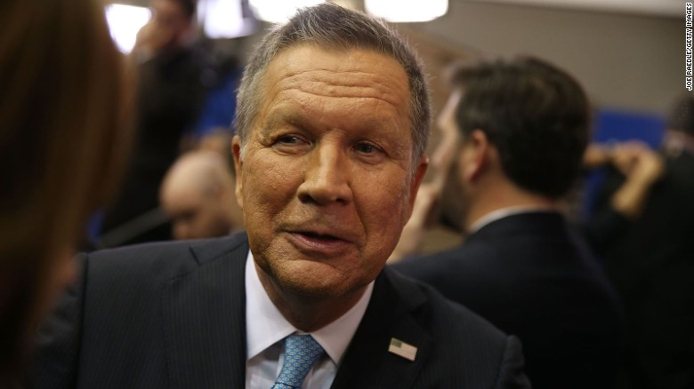 "Kasich: ""I'm with Harry Potter"""