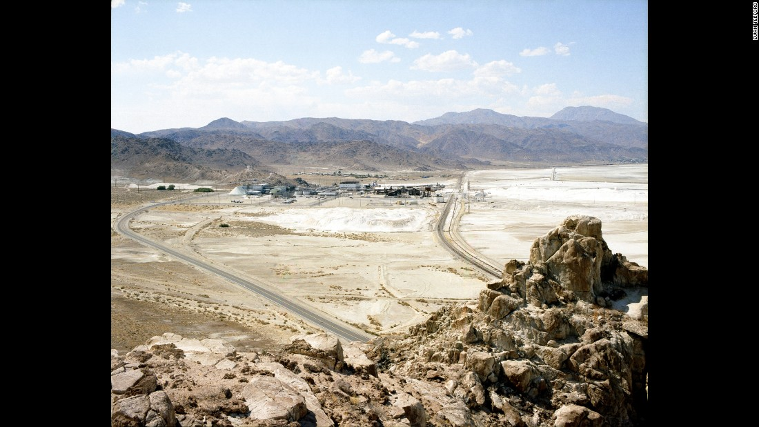 Trona is named for the chemical used to make soda ash, a substance typically found in glass and some detergents.