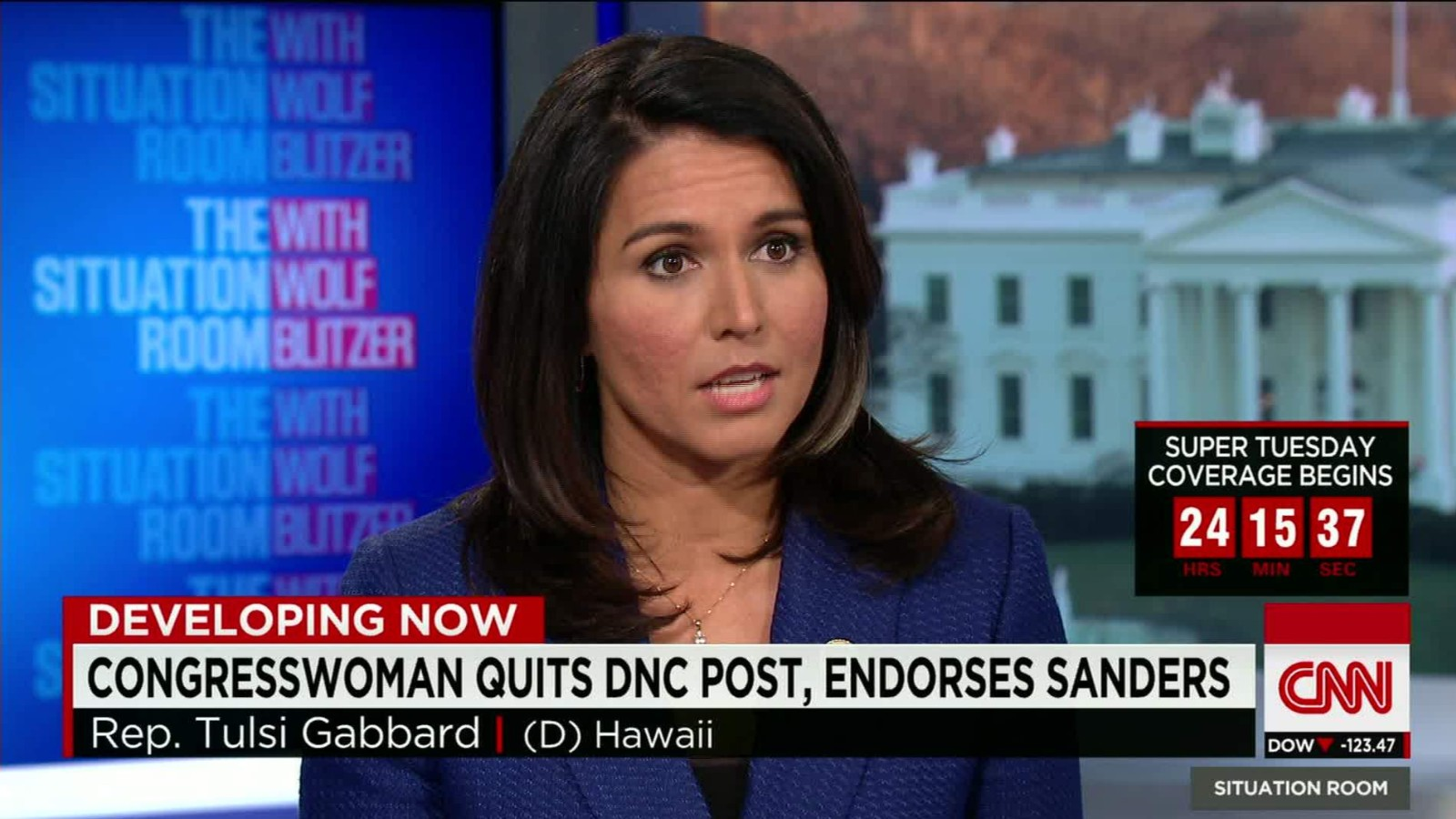 Image result for Tulsi gabbard CNN