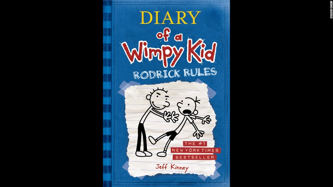 "Do boys keep diaries? It turns out that Greg Heffley does, and kids can go along for the ride as he enters middle school (in book one) and tries to deal with the challenges of being a kid. In book two, ""Diary of a Wimpy Kid: Rodrick Rules,"" author Jeff Kinney adds the challenge of Greg having a secret from the summer that Greg does not want to get out. The only problem is that his brother, Rodrick, knows all."