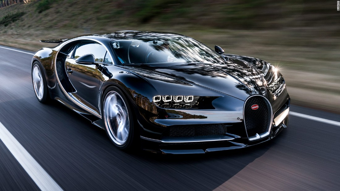 Moving on from the Veyron, first introduced in 2005, the Chiron is the latest high-performance supercar from Bugatti. Unveiled at the Geneva Motor Show on Monday, its makers say it is faster, more powerful and more expensive than its record-breaking forebear.