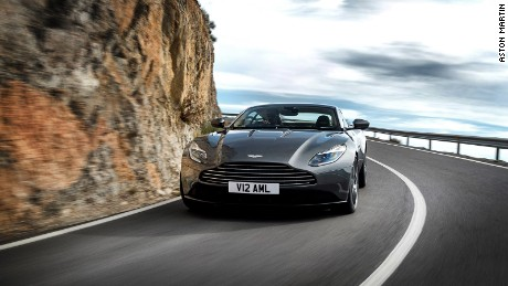 The DB11's aearodynamic developments are aimed to keep it firmly planted in the corners.