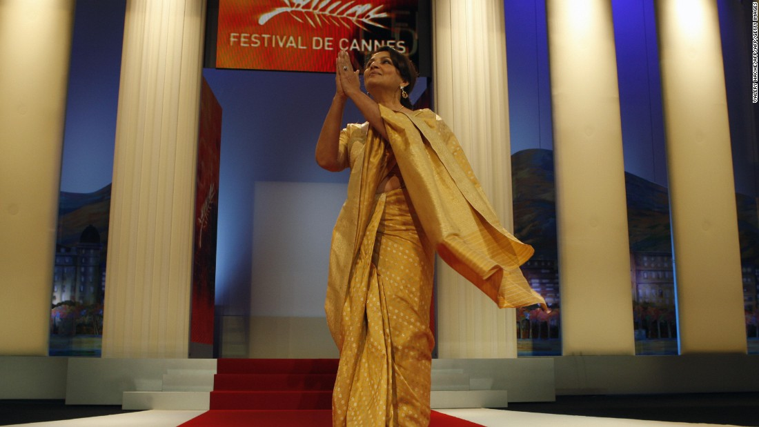 Veteran actress Sharmila Tagore, seen here at the 62nd Cannes Film Festival, in France, was the first woman in India to pose in a bikini on a magazine cover.