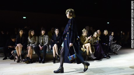 Burberry has made the move toward showing collections that are available immediately after their shown on the runway.