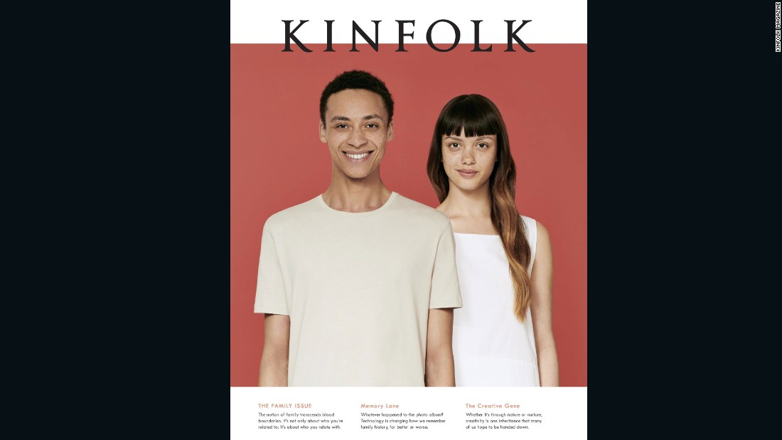 """Kinfolk magazine are a joy to work with and are passionate about developing their global brand. They actively request different looks. For them it is more important that their models are engaging - working with only one type of model is limited as well as dated so therefore not appealing to their current and target market."" - Sarah Bunter"