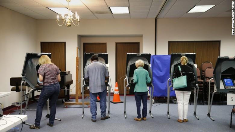 Exit polls show economic anxiety