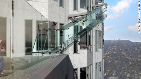 The U.S. Bank Tower plans to incorporate a glass slide into the 70th floor.