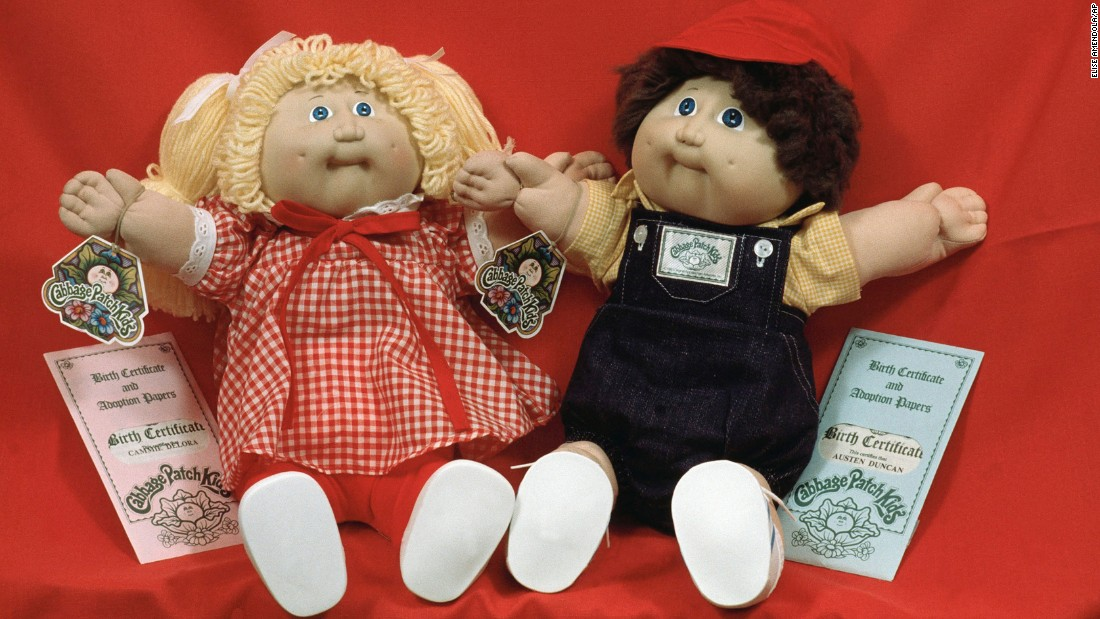 "<strong>Cabbage Patch fever:</strong> Xavier Roberts created Cabbage Patch Kids, <a href=""http://www.babylandgeneral.com/about/our-history/"" target=""_blank"">originally called ""Little People,""</a> while he was an art student in 1977. By the end of 1983, full-on hysteria surrounding the dolls had set in, with <a href=""http://content.time.com/time/magazine/article/0,9171,921419,00.html"" target=""_blank"">parents literally fighting</a> each other in store aisles to obtain them."