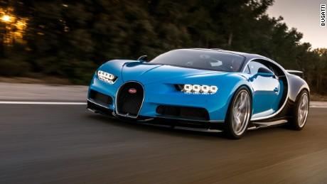 Meet the world's next fastest car: Bugatti Chiron