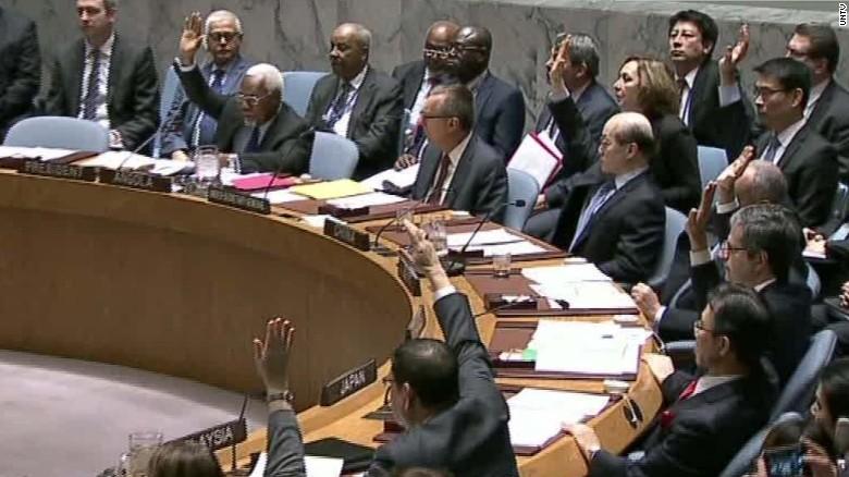 Image result for UNSC approves  sanctions on N. Korea