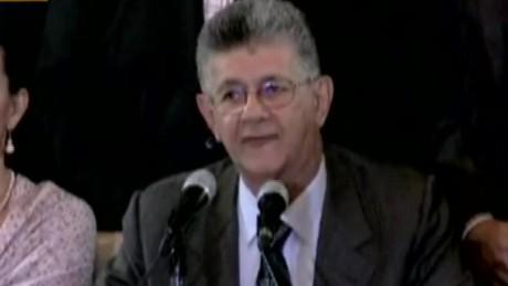 cnnee brk venezuela ramos allup sentencia del miedo_00014807