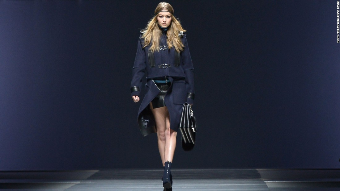 The show featured a star-studded line-up of talented models, with the likes of social media sensation Gigi Hadid taking on the Versace runway.