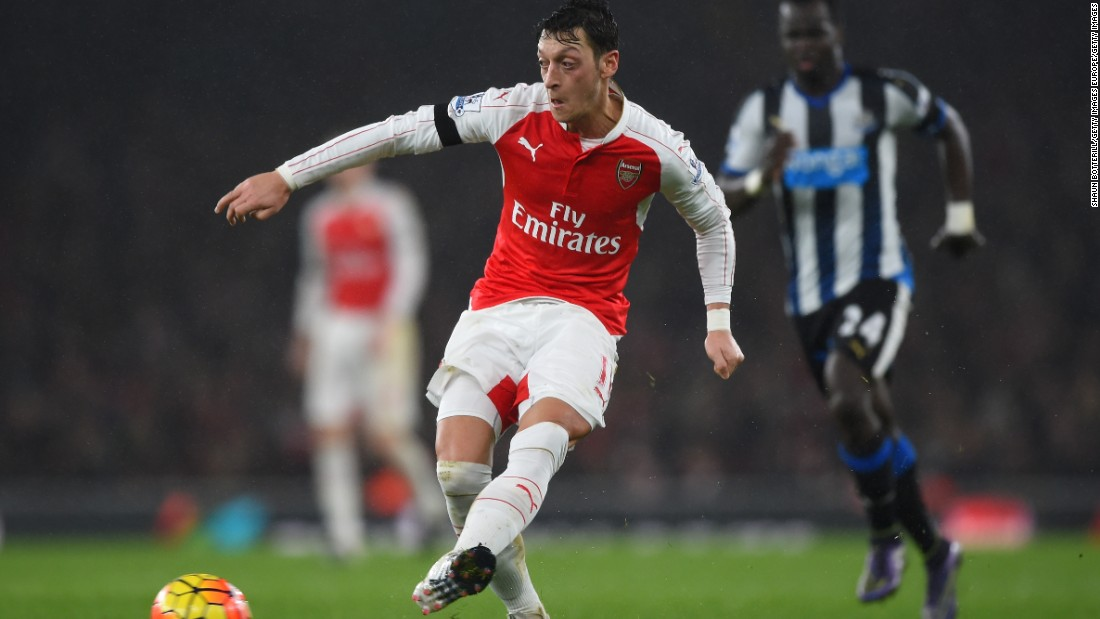 If Tottenham is to win Saturday, it may need to stop Mesut Ozil, who is closing in on the Premier League assist record.