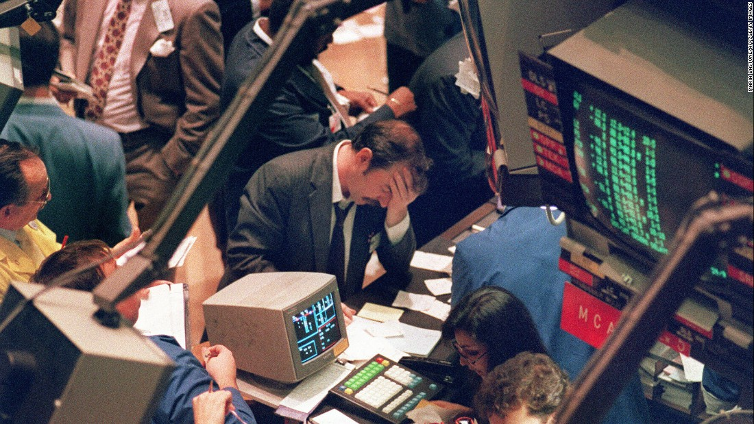 <strong>Black Monday:</strong> At the time, it seemed almost unimaginable that the Dow Jones Industrial Average could drop 500 points in a single day of trading. And yet that was exactly what happened on October 19, 1987, a day that would become known as Black Monday. The market began falling at the opening bell of the New York Stock Exchange, and as panic ensued, the losses accelerated until the closing bell. It was the largest drop since 1914, with the Dow losing 22% of its value.