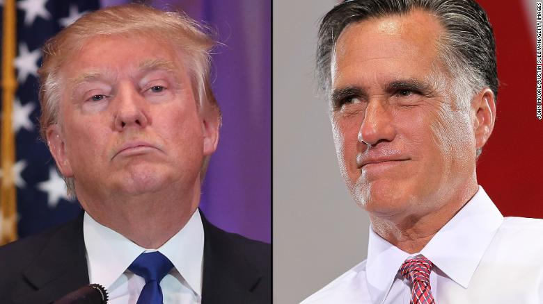 Romney speaks out against Trump's campaign (Full speech)