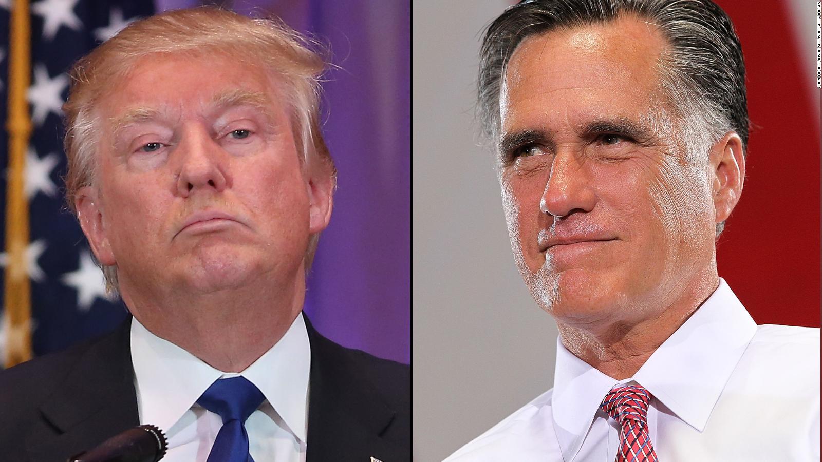 donald trump mitt romney meeting another wild twist donald trump mitt romney meeting another wild 2016 twist cnnpolitics com