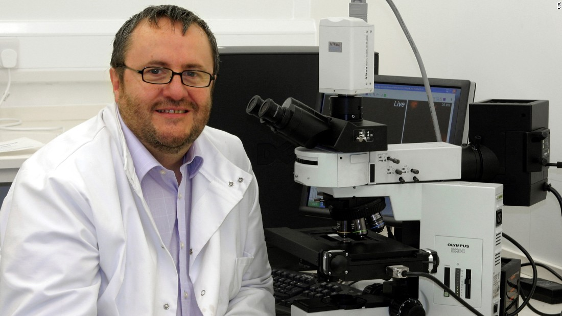 Professor Pete Coffey, head of the London Project to Cure Blindness, has invented a stem cell treatment for AMD that could restore the vision of sufferers.